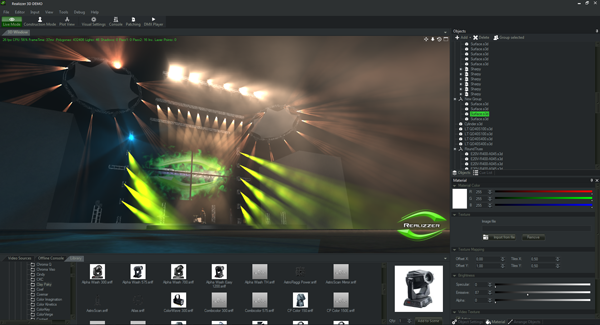 Realizzer® 3d realtime lighting visualizer lighting simulation